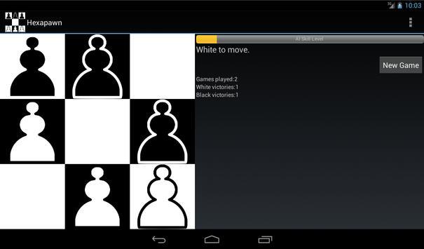 Hexapawn apk screenshot