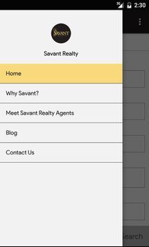 Savant Realty apk screenshot