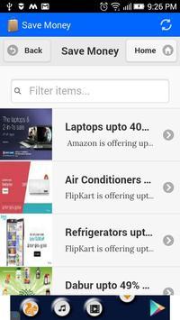 Save Money apk screenshot