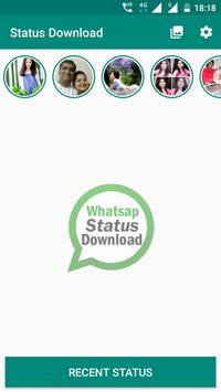 Status Download for Whatsap poster