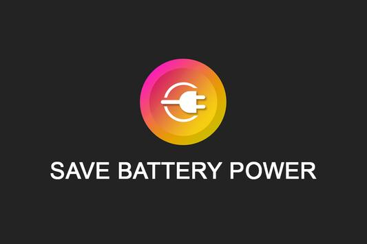 Save Battery Power poster