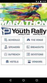 PenDel Youth Rally poster