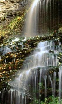 Waterfalls Wallpaper poster