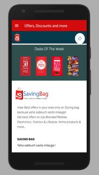 Saving Bag - Yaha sabkuch sasta mileyga screenshot 2