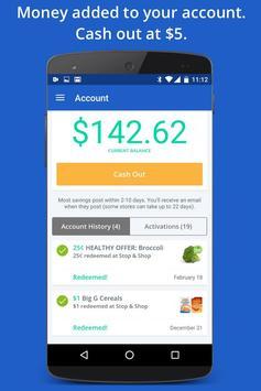SavingStar - Grocery Coupons apk screenshot
