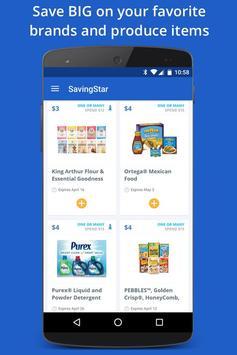 SavingStar - Grocery Coupons poster