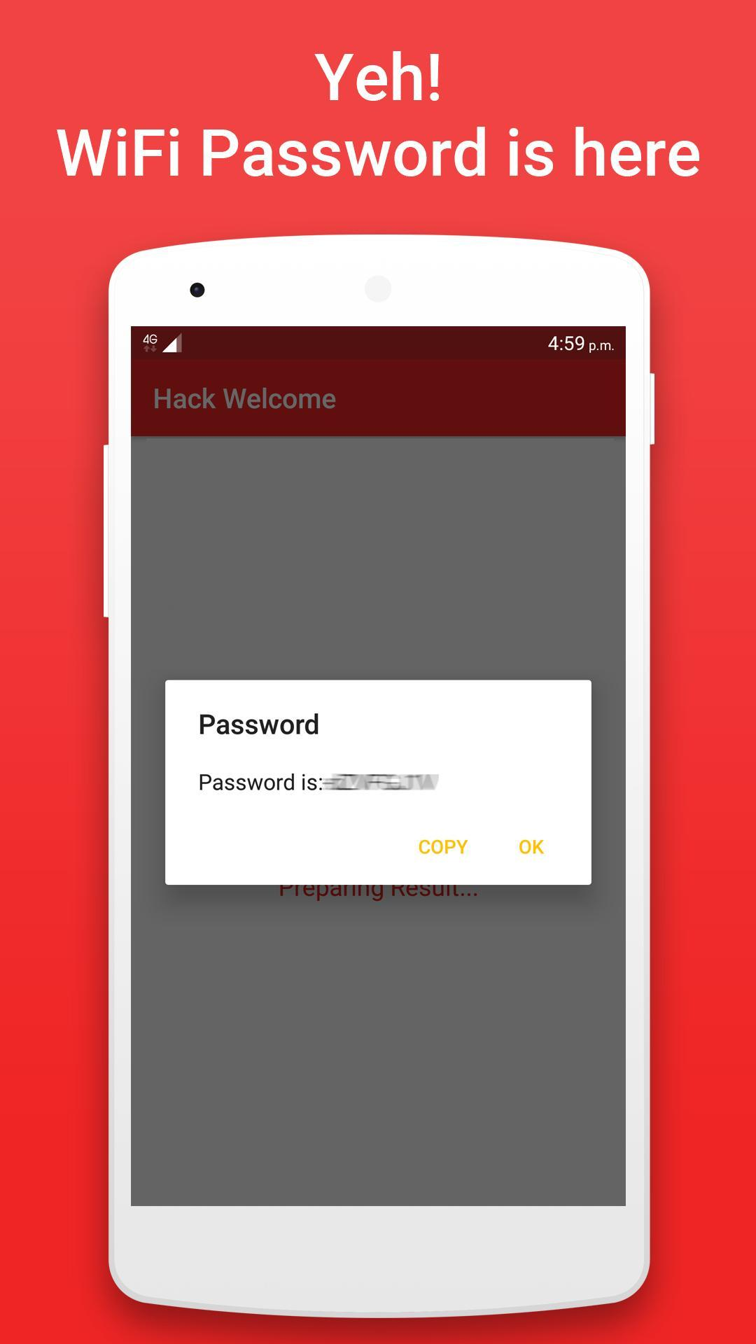 Hack WiFi Password Prank WiFi Key Hacker No Root for Android - APK