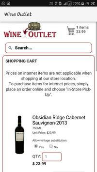 Wine Outlet apk screenshot