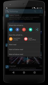 RSS Savvy apk screenshot