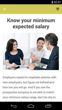 Salary Negotiation Tips screenshot 1