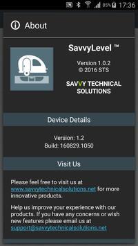SavvyLevel apk screenshot