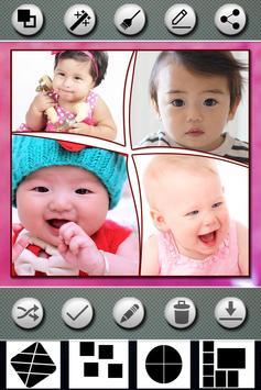 Baby Photo Collage Editor screenshot 2