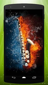 Saxophone Live Wallpaper poster