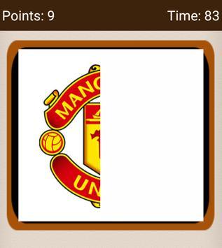 Football Clubs Logo Quiz screenshot 1