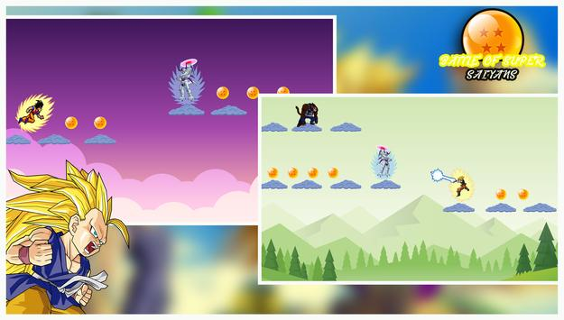 Super Goku : Saiyan Fighting 2 apk screenshot