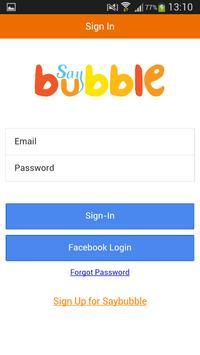 SayBubble Cartaz