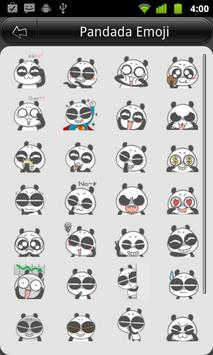 Panda Emoji poster