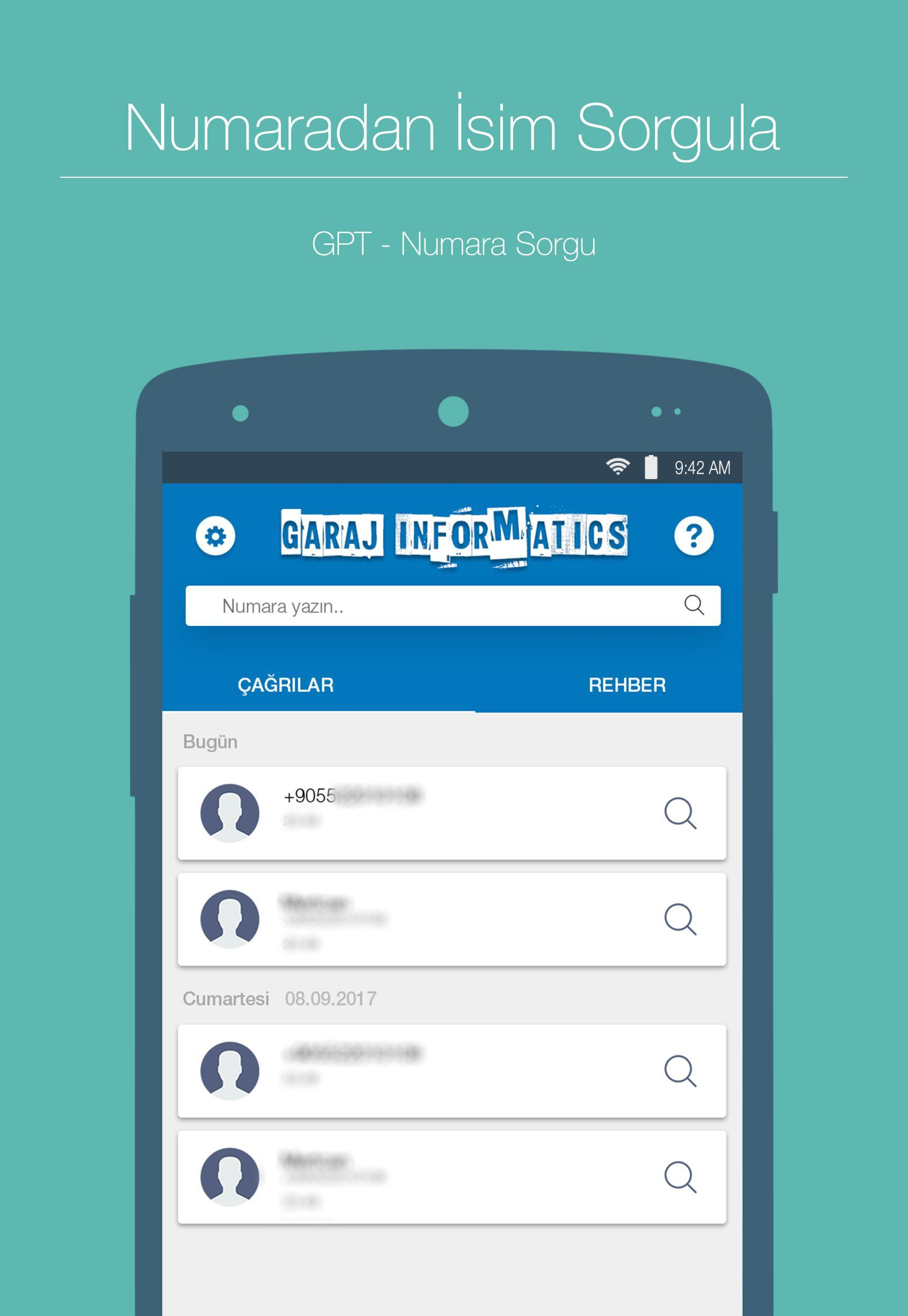 GPT - Numara Sorgulama for Android - APK Download