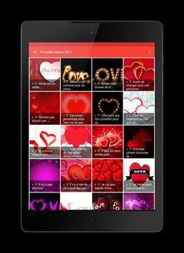 Texte d'amour 2017 apk screenshot