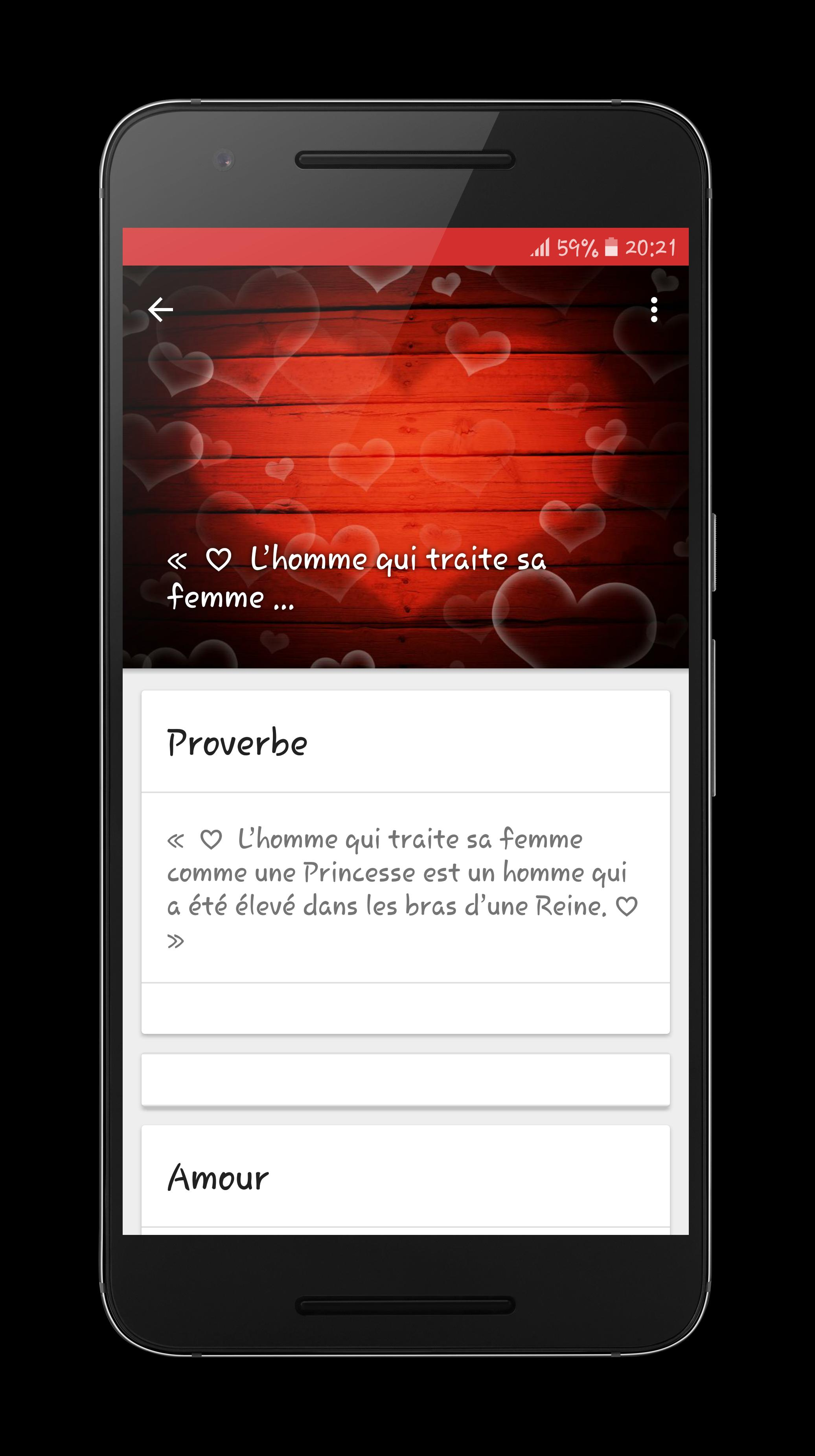 Texte Damour 2017 For Android Apk Download