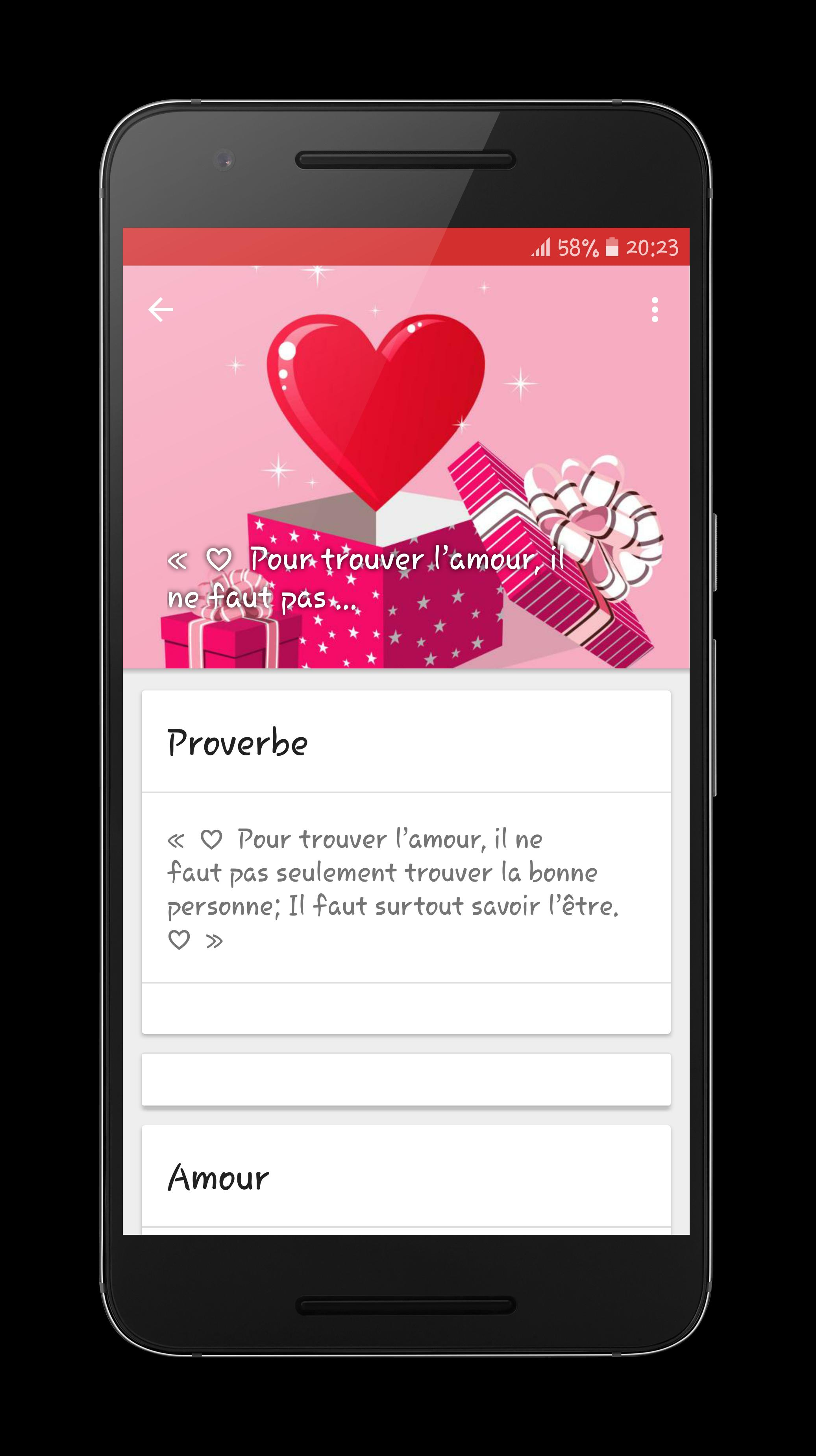 Texte D Amour 2017 For Android Apk Download