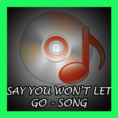 Say You Won't Let Go - Song icon