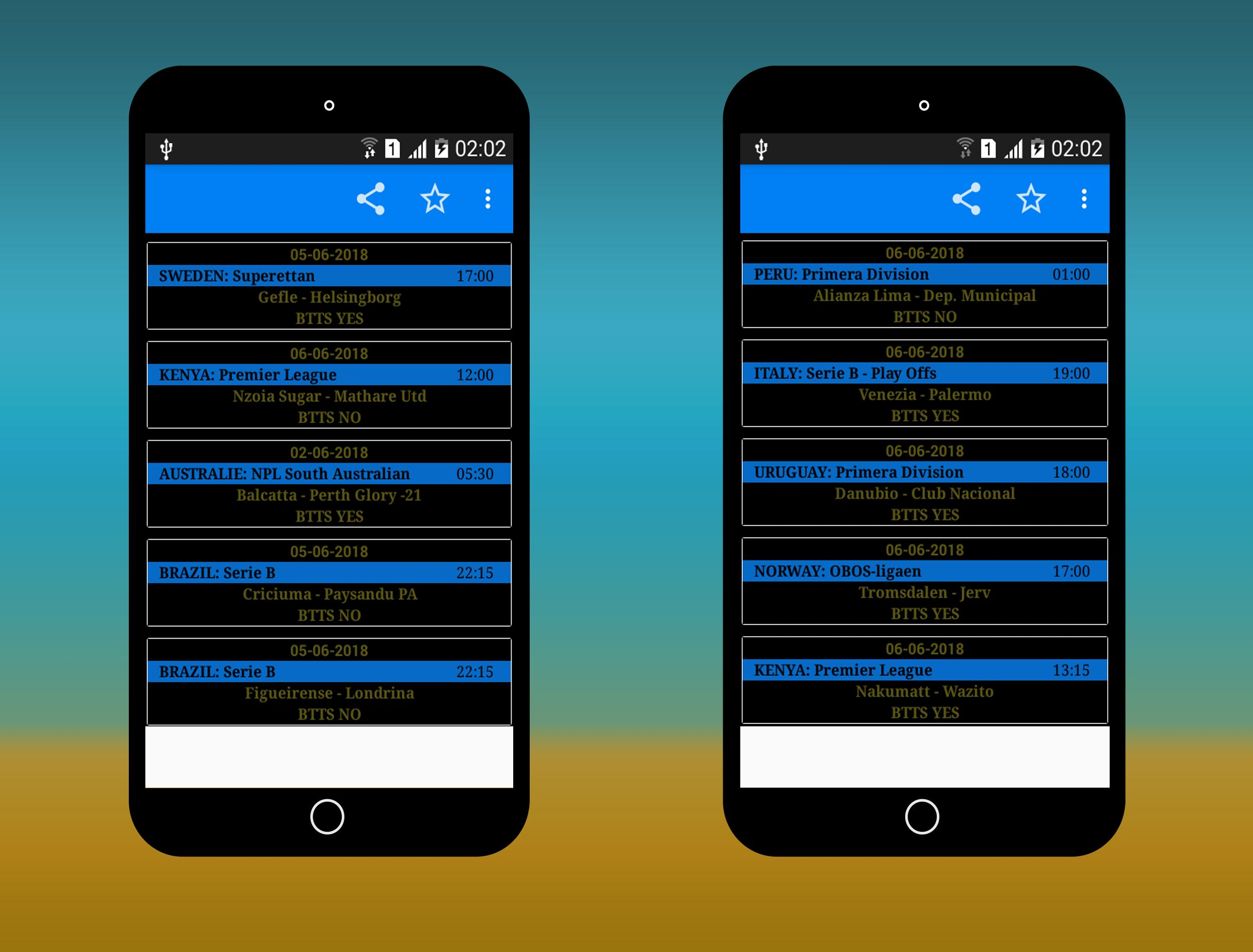BTTS Fixed Matches: Smart Betting Tips for Android - APK