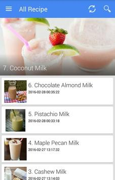 Milk Recipes Affiche