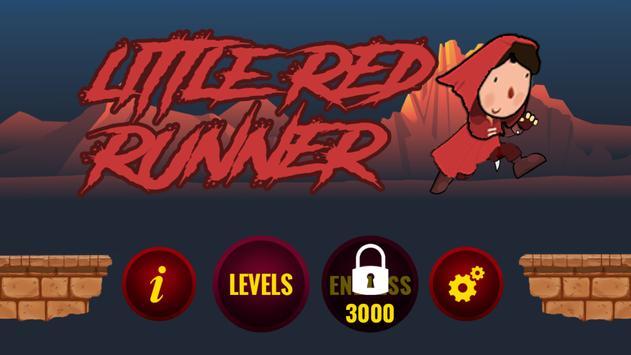 little red runner poster