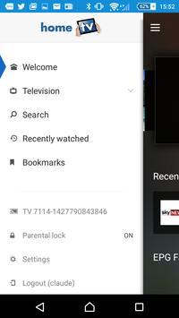 homeTV screenshot 1