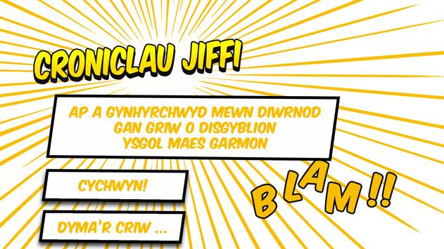 Croniclau Jiffi poster