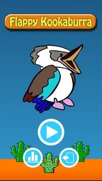 Flappy Kookaburra poster