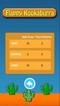 Flappy Kookaburra screenshot 1