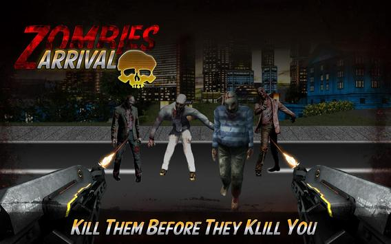 Incredible Zombies Shooter :  apocalypse survival poster