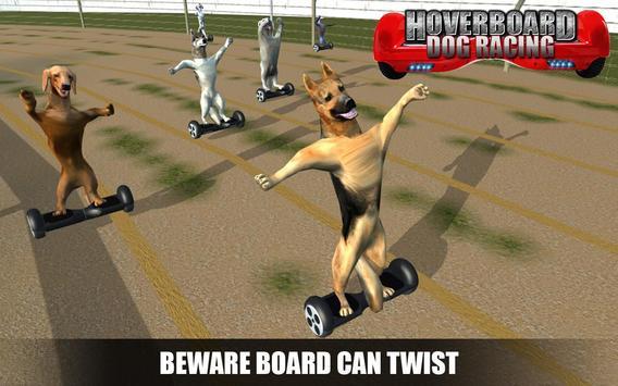 HoverBoard dog surfer : dog Racing Game apk screenshot