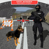 Border Patrol Sniffer Dog : Commando Army Dog Sim icon