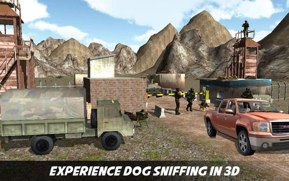 Border Patrol Sniffer Dog : Commando Army Dog Sim apk screenshot