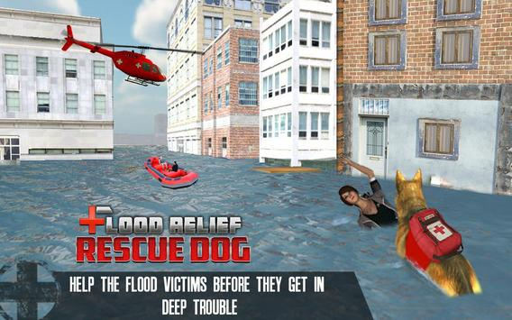 Flood Relief 911 Rescue Duty : Dog Simulator poster