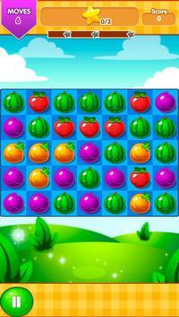 Fruit Juice Match 3 - 2018 screenshot 2