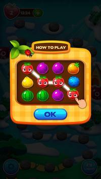 Fruit Juice Match 3 - 2018 screenshot 3