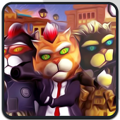Cat Gangster Mania City icon