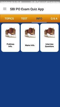 SBI / IBPS PO EXAM PREPARATION apk screenshot