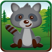 Puzzles with animals icon