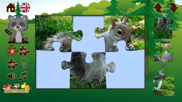 Puzzles with animals apk screenshot