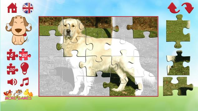 Puzzles of a dog screenshot 4