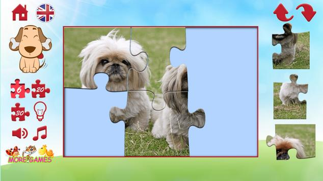 Puzzles of a dog screenshot 2
