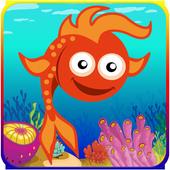 Puzzles fish icon