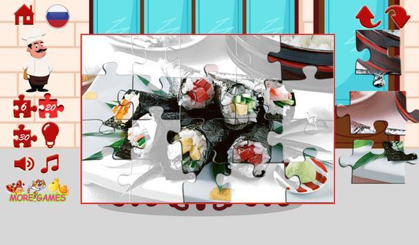Puzzles food apk screenshot