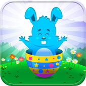 Puzzles for kids Easter icon