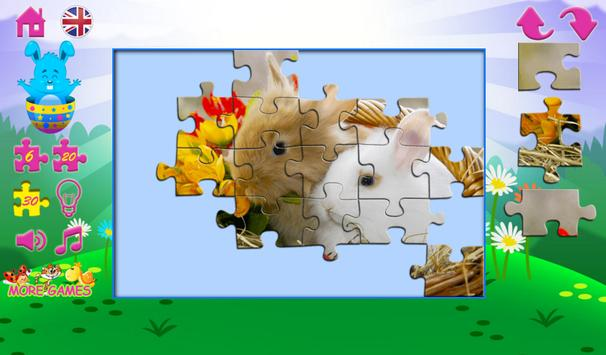 Puzzles for kids Easter apk screenshot
